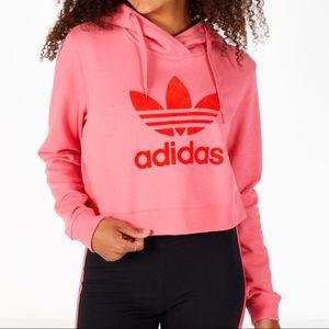 Adidas Originals Colorado Crop Hoodie Sweatshirt